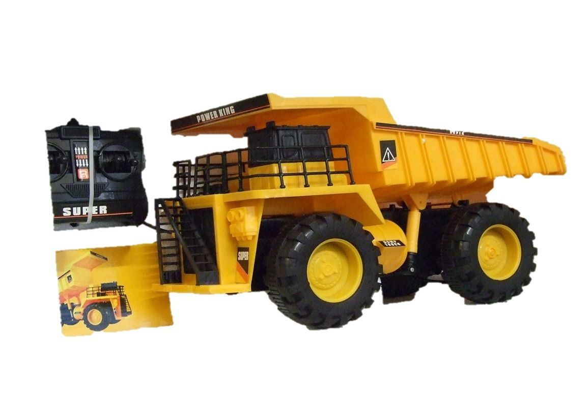 Large Toy Trucks For Boys : Toy remote control large dumper truck boys girls toys mod